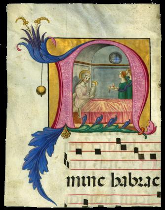 Scriptorium of Santa Maria di Castello (Ludovico da Taggia?) , Italy, Genoa, c. 1490–1500
