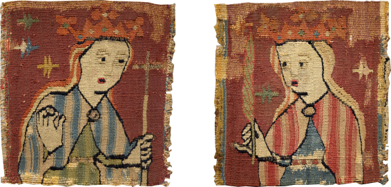 Pair of Female Saints , late 15th century