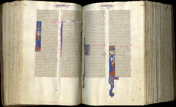 Vulgate Bible , c. 1250-1270