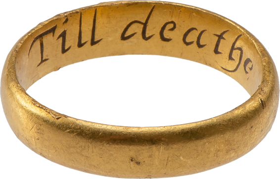 "Posy Ring ""Till deathe noe change"" , England, late 17th-early 18th century"