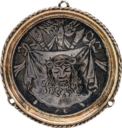 Hat Badge with Veronica's Veil , late 16th- early 17th century