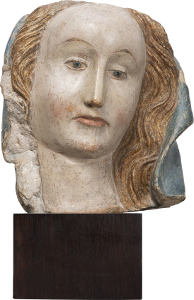 Head of the Virgin Mary , c. 1400-1450