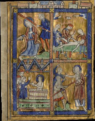 Parisian Illuminator (circle of the Master of Guînes?) , c. 1230-1240