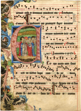Circle of the Master of the Hasenburg Missal and Follower , c. 1410-1420, with additions c. 1550-1600s(?)