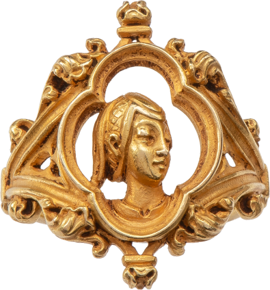 Joan of Arc Ring by Louis Wièse (1852-1930) , c. 1890