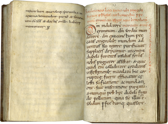 Liturgical Rites and Prayers used by a Bishop , c. 1040-1075