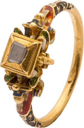 Renaissance Diamond Ring , late 16th century