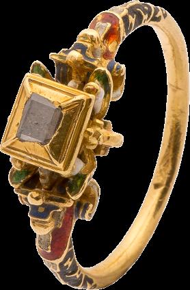 Renaissance Diamond Ring , late 16th century