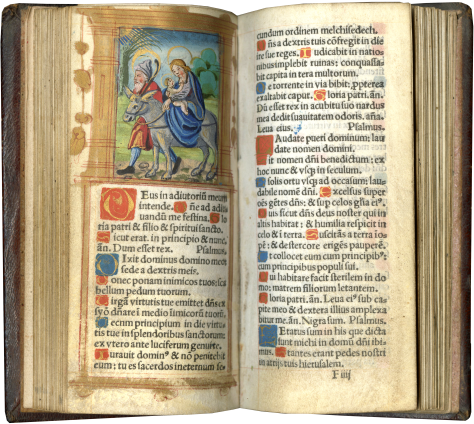 Printed Book of Hours (Use of Rome) , c. 1536 (almanac for 1536-1548)