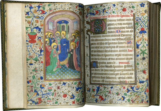 Book of Hours (use of Rome) , c. 1460
