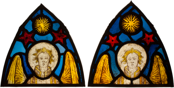 Two Angels , c. 1420-30