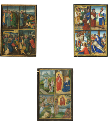 three bening miniatures