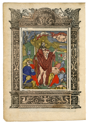 Life and Passion of Christ, series of 30 woodcuts from a Passional [incomplete] , 1557