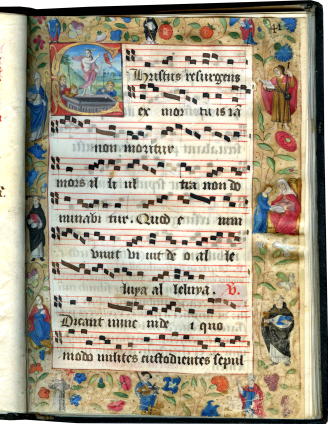 Processional (Dominican use) , c. 1520-1530; c. 1525-1550; 1674