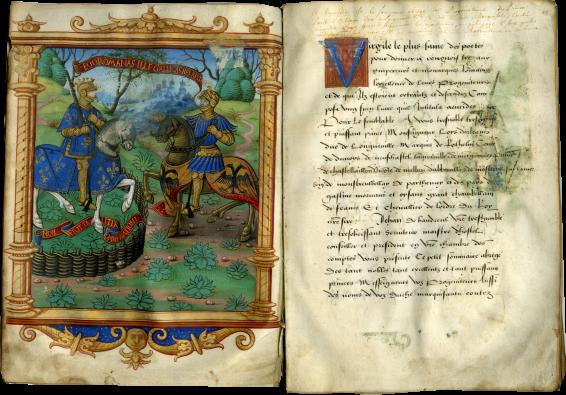 Jean de Baudreuil, Sommaire abrégé des ducs de Orléans-Longueville , c. 1525 (likely after 1524)