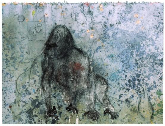 Miquel Barceló, Atelier avec Gorille, 2008