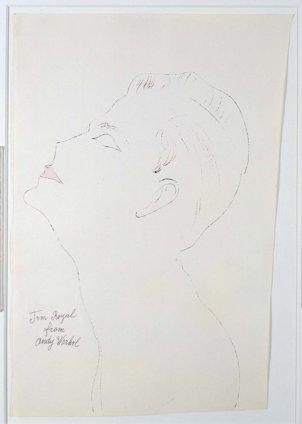 Andy Warhol, Tom Royal, c. 1956