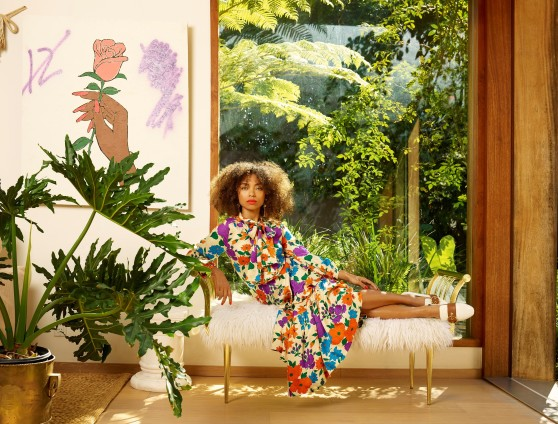 Awol Erizku, Logan Browning [Vogue], 2017