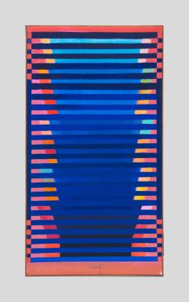 Heinz Mack, Farbstufen (Chromatische Konstellation) [Colour-Steps (Chromatic Constellation)], 2005