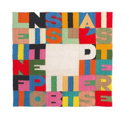 Alighiero Boetti, Le Infinite Possibilità di Esistere, 1992