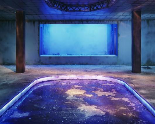 Chen Wei, Dance Hall (Blueness), 2013