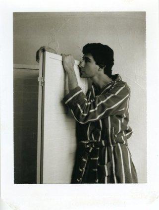 Robert Mapplethorpe  Untitled (David Croland), c. 1972  Polaroid  10.8 x 8.9 cm / 4 1/4 x 3 1/2 ins