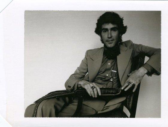 Robert Mapplethorpe  Untitled (Ossie Clark), 1974  Polaroid  10.8 x 14.6 cm /4 1/4 x 5 3/4 ins
