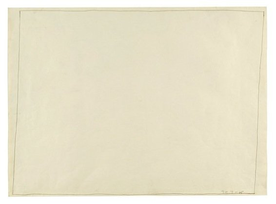 Untitled (Open Drawing) 07.07.65, 1965