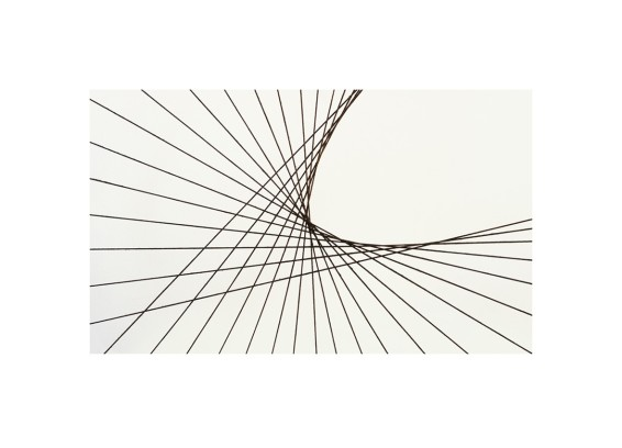 Untitled [Stringed Figure (Curlew), Version II, #01], 2015