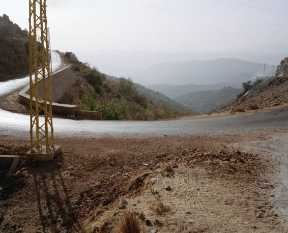 Nature Morte - Landscapes. Road linking Shuaia to Shebaa, around the valley often used by resistance fighters on their way in and out of the occupied area toward the west of Bekaa, 2007