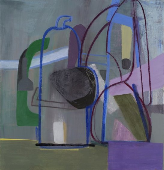 Untitled (Purple Bottle), 2013