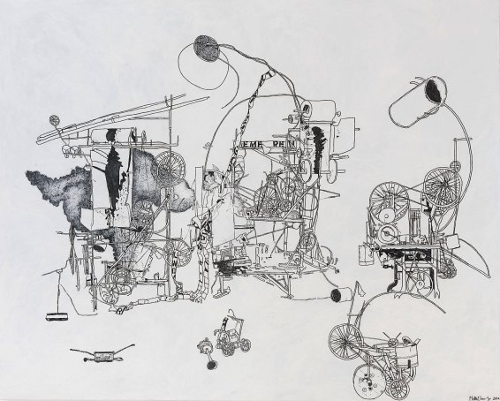 H.2.N.Y. Machine Committing Suicide, 2006