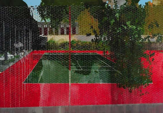 Country Club Series: Chicken Wire, 2008