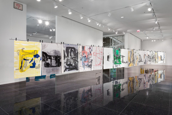 Amy Sillman: The Nervous System, Arts Club Chicago, 22 May - 3 August 2019