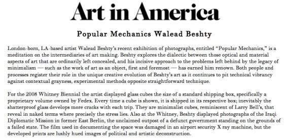 Popular Mechanics Walead Beshty