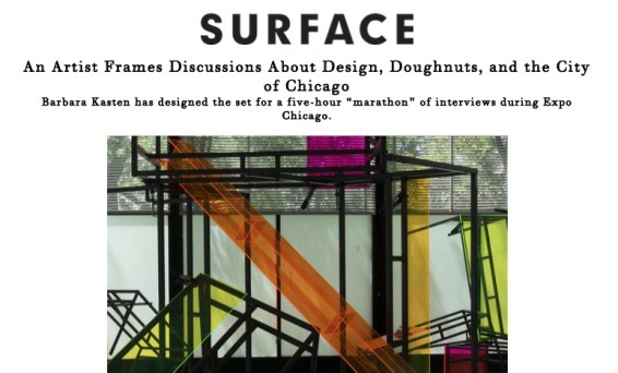 An Artist Frames Discussions About Design, Doughnuts, and the City of Chicago
