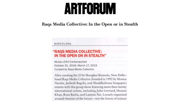 Raqs Media Collective: In the Open or in Stealth