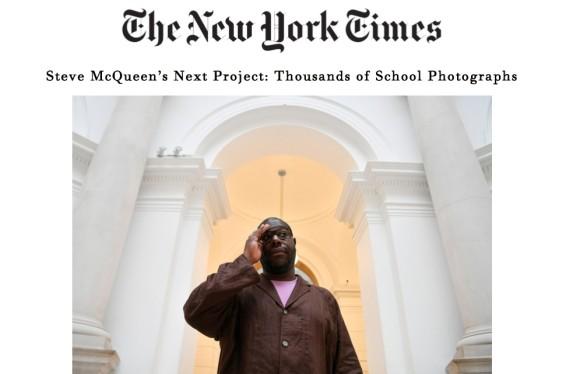 Steve McQueen's Next Project: Thousands of School Photographs