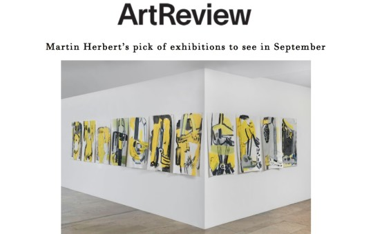 Martin Herbert's pick of exhibitions to see in September