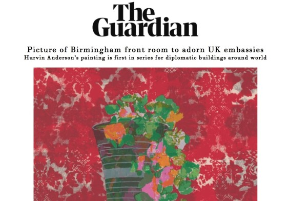 Picture of Birmingham front room to adorn UK embassies