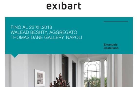 Fino al 22.XII.2018 Walead Beshty, Aggregato Thomas Dane Gallery Naples