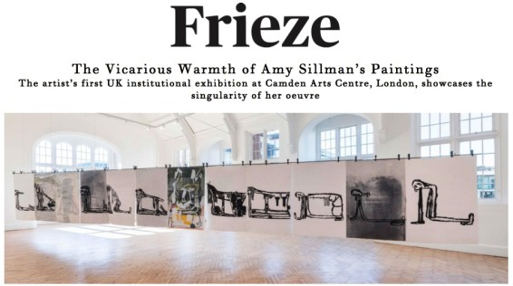 The Vicarious Warmth of Amy Sillman's Paintings