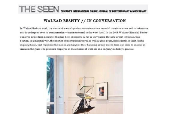 Walead Beshty // In conversation