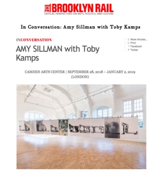 Amy Sillman with Toby Kamps
