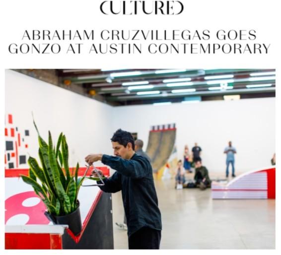 Abraham Cruzvillegas Goes Gonzo at Austin Contemporary