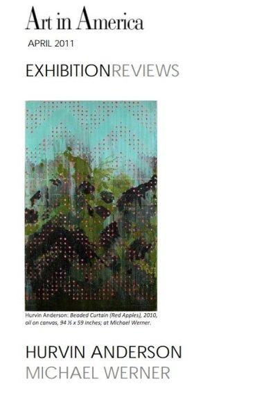 Exhibition Review: Hurvin Anderson