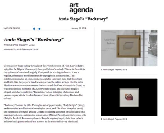 """Amie Siegel's """"Backstory"""""""