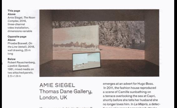 Beyond the Script: Artist Amie Siegel Retraces Jean-Luc Godard's 'Le Mépris'