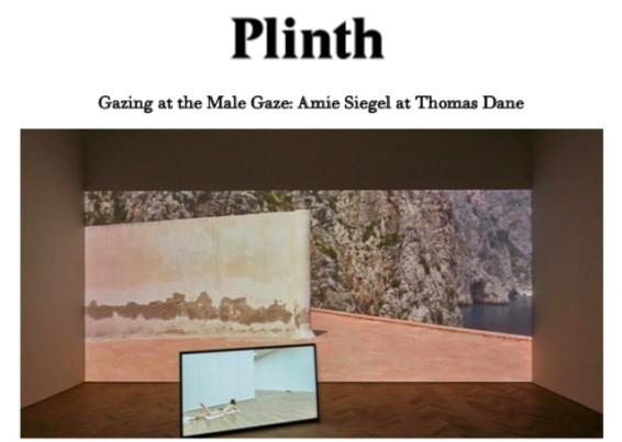 Gazing at the Male Gaze: Amie Siegel at Thomas Dane