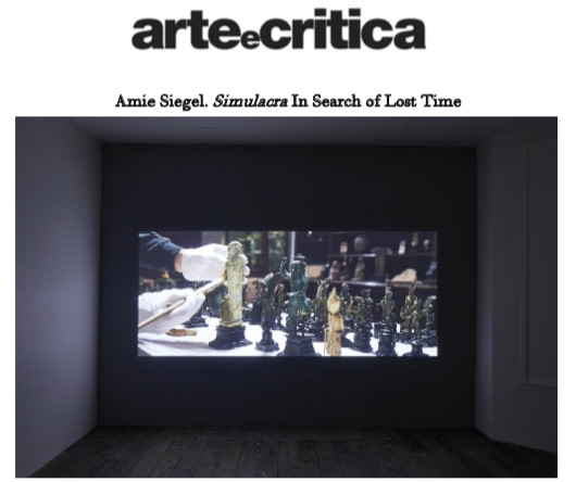Amie Siegel. Simulacra In Search of Lost Time
